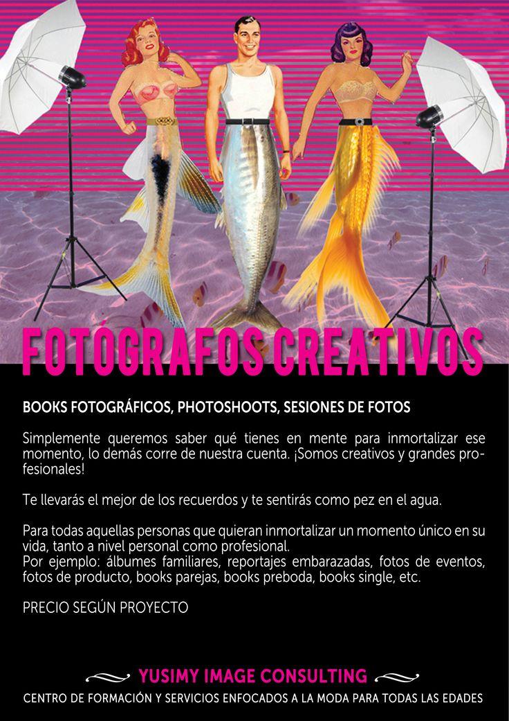 FOTÓGRAFOS CREATIVOS, books fotográficos, photoshoots, sesiones de fotos...