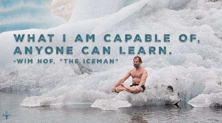 Heat Comes From Within! Mastering Cold with Wim Hof