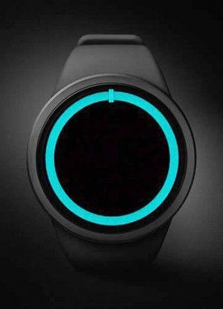 文字盤の無い、超ミニマムなデザインの近未来的腕時計 ZIIIRO Eclipse | Leaddy (リーディー)