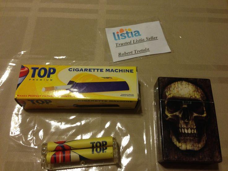 Cigarette Carrying Case /w Cigarette Rolling Machine , and Filter Cigarette Machine