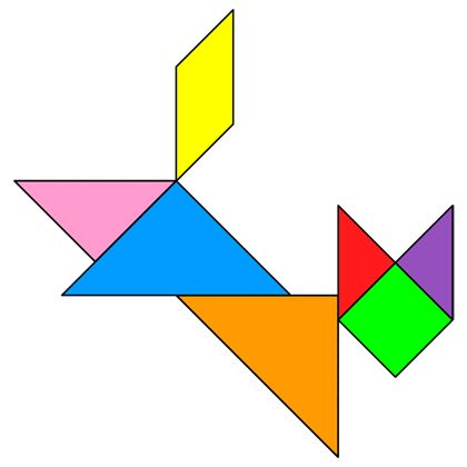 tangram cat jumping tangram solution providing teachers and pupils with tangram puzzle activities