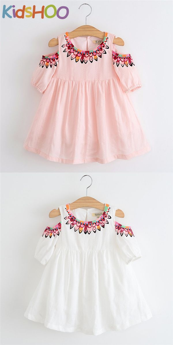 Toddler Baby Kids Girls Dot Ruffles Strap Print Dress Princess Dresses Clothes