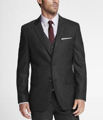 Je voudrais porter un costume d'affaires et Salut-Dessus.