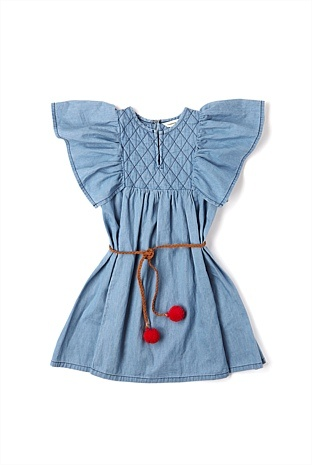 Country Road - Kidswear Girls - Quilted Pinafore from store: Shop.countryroad.au