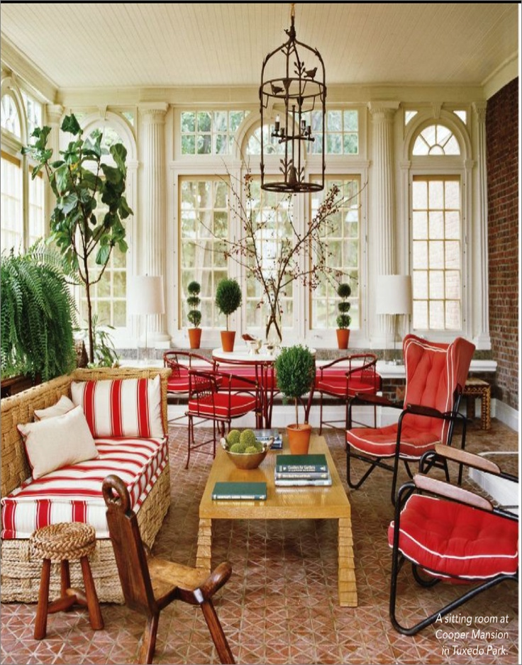 17 best images about spaces sunroom porch conservatory for Sunroom breakfast nook