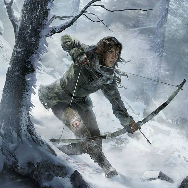 Reposting @getgameio: Rise of the Tomb Raider . . . . . #gaming #tombraider #xbox #pc #ps4 #designer #graphics #pencil #illustrator #decoration #nothingisordinary #graphicdesign #logo #artsy #vector #graphic #webdesign #artoftheday #designinspiration #photoshop #behance #modern #coverart #instaartist #gfx #artistic #mixtapecover #masterpiece  #focalmarked