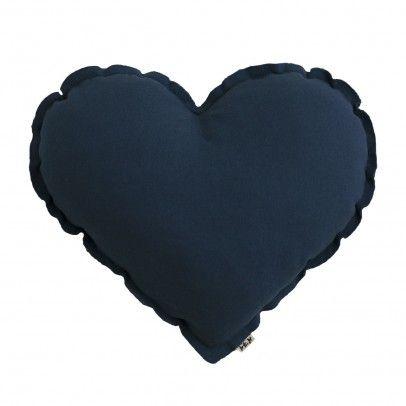Cojín Corazón Azul Marino  Numero 74