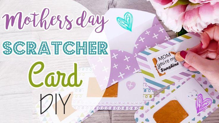 Scratcher Mothers day Card - Card Gratta e vinci Festa della Mamma
