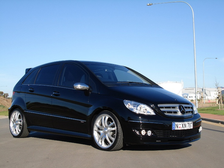 MY next car...the Mercedes B200..perhaps in dark blue and no wing thing at the back.