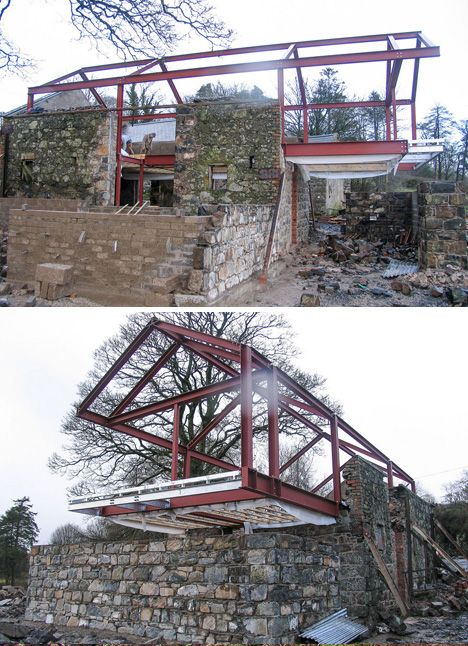 stone walled home conversion