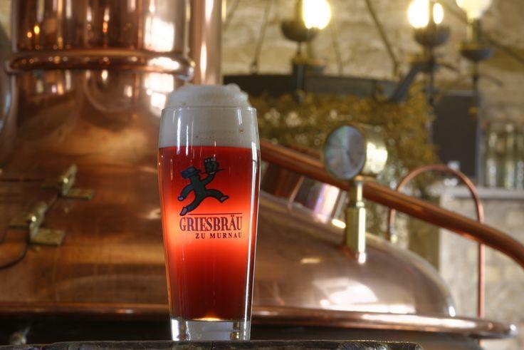 hausgebrautes #Bier vom Griesbräu zu Murnau