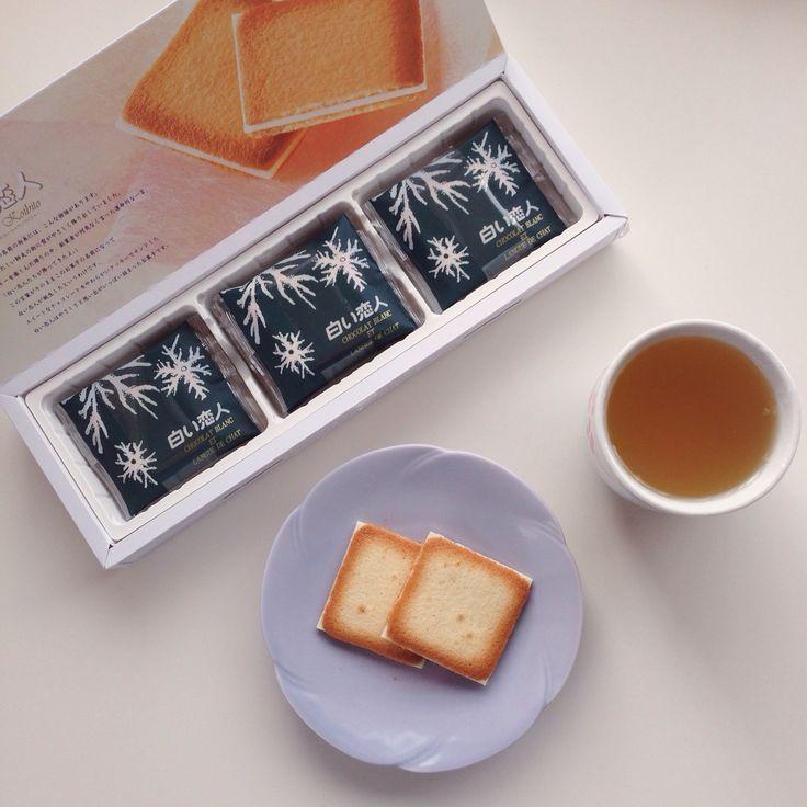 Shiroi Koibito Biscuits from Hokkaido