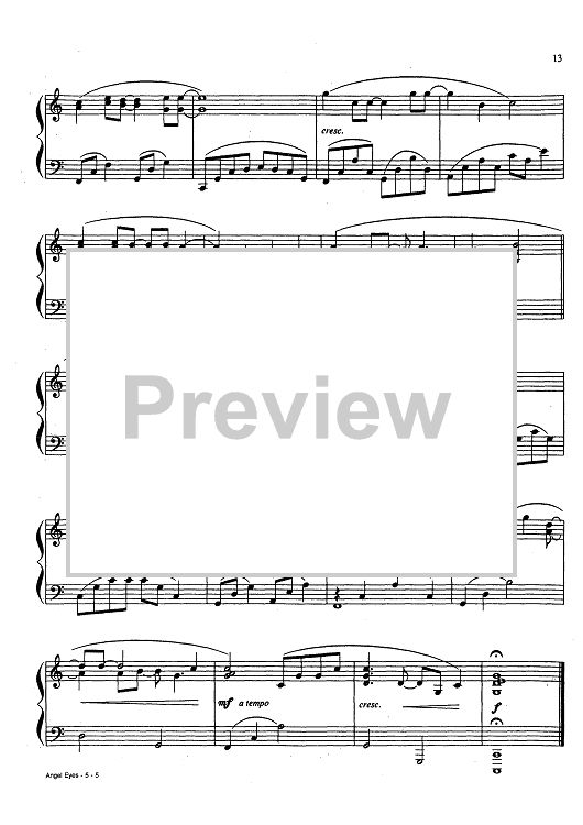 Bought Wedding March Piano Solo   4 99 Usd The Prayer Piano Solo