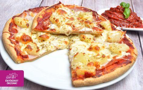 Szénhidrátcsökkentett, gluténmentes kelesztés nélküli PALEO pizza, tojásmentesen is