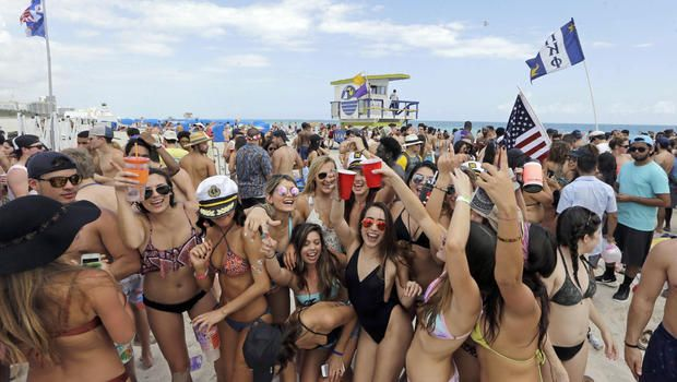 #SPRING BREAKERS FROM #HELL... #Police struggle to keep lid on rowdy revelers...