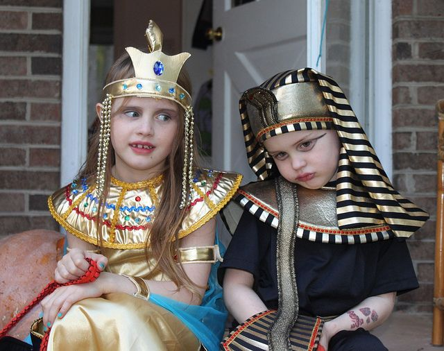 Ancient Egyptians, #halloween #costumes #kids