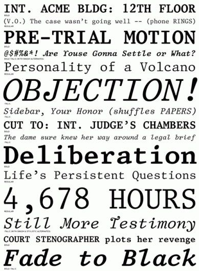 42 best Typefaces images on Pinterest Fonts, Script fonts and - pretrial officer sample resume