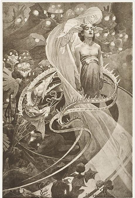 Favorito 69 best Alfons Maria Mucha images on Pinterest | Art nouveau  WF85