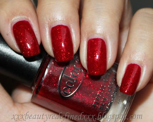 Color Club Nail Polish Ruby Slippers. My favorite brand. They have such beautiful colors, and they're decently priced :)