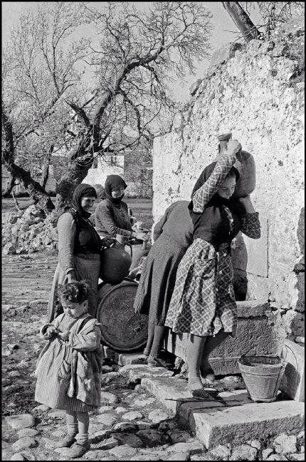Κρήτη 1955 Eric Lessing