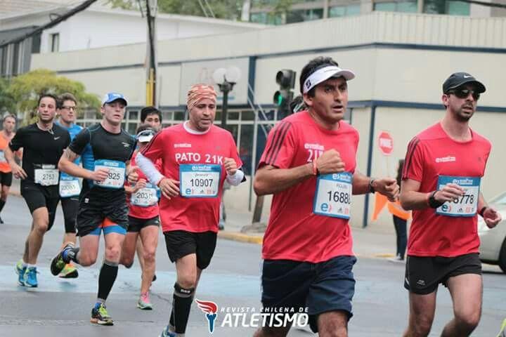 Aliro Rojas #Maratóndesantiago 2016