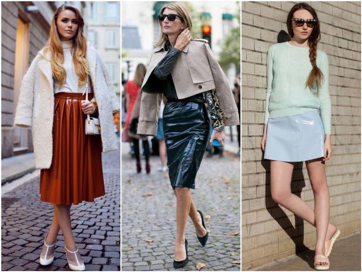 Аутфит в деталях. Как виниловую юбку превратили в приличную вещь? - 7 одежек. Свой гардероб – свои правила