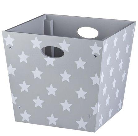 Kids Concept Förvaringsbox Star Grå
