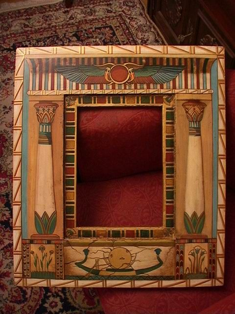 Egyptian ornaments frame!
