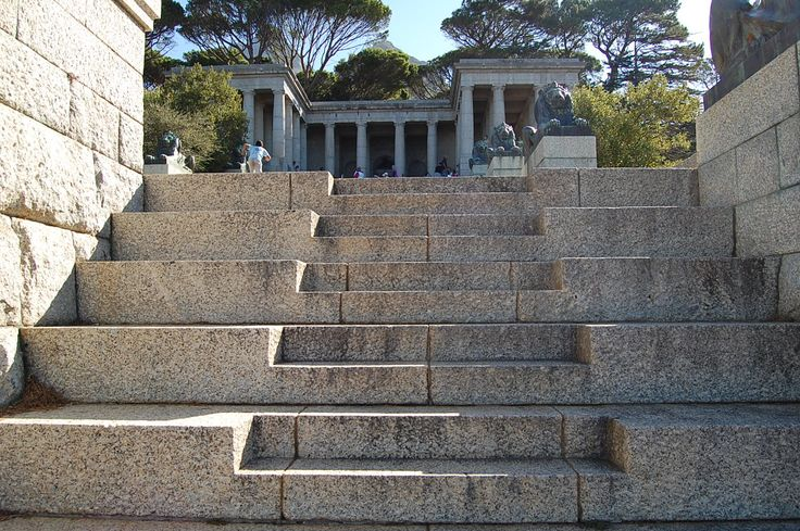 Steps to the monument