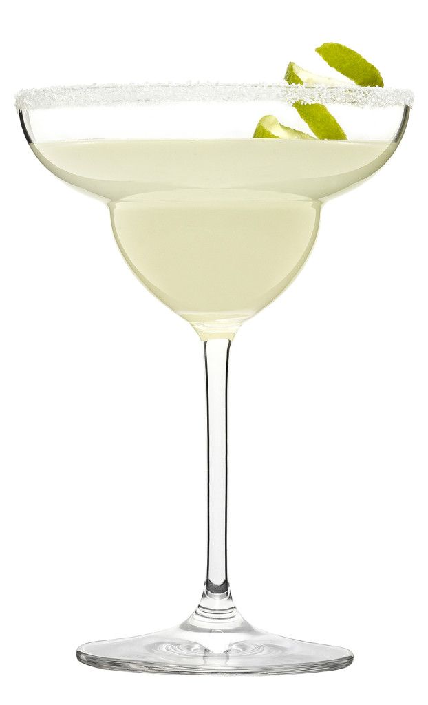 The Original Margarita: 2 oz tequila, 1 oz lime juice, 1 oz cointreau   Combine all ingredients in a mixing glass and add ice. Shake and strain into a margarita glass. Garnish with salt and a lime wheel.