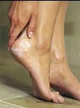 Dry heels fix.Soft Feet, Soak Feet, Foot Scrubs, Dry Crack Heels, Feet Scrub, Beautiful, Softener Dry, Coconut Oil, Dry Heels