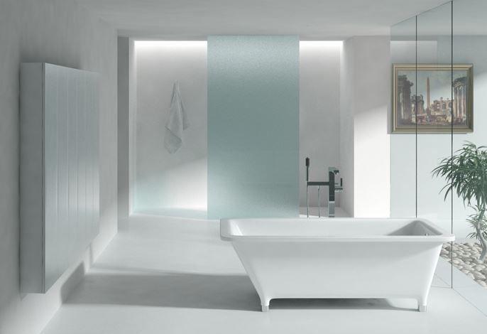Freestanding bathtub from SLIK. (TIMES)