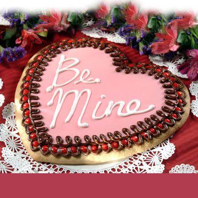 Giant Cookie Recipe Valentines Day