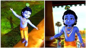 Резултат слика за little krishna and radha photos