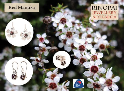 Sterling Silver Flower Jewelry for Cheap! Shop Flower rings, necklaces& earrings. Variety of colors available for Flowers this festive season in Newzealand. contact us on 035248597 http://redmanuka.co.nz/