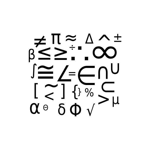 8 best Mathematical Symbols images on Pinterest