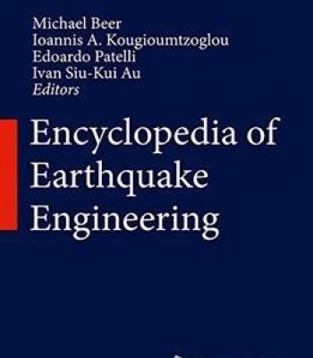 Encyclopedia Of Earthquake Engineering PDF