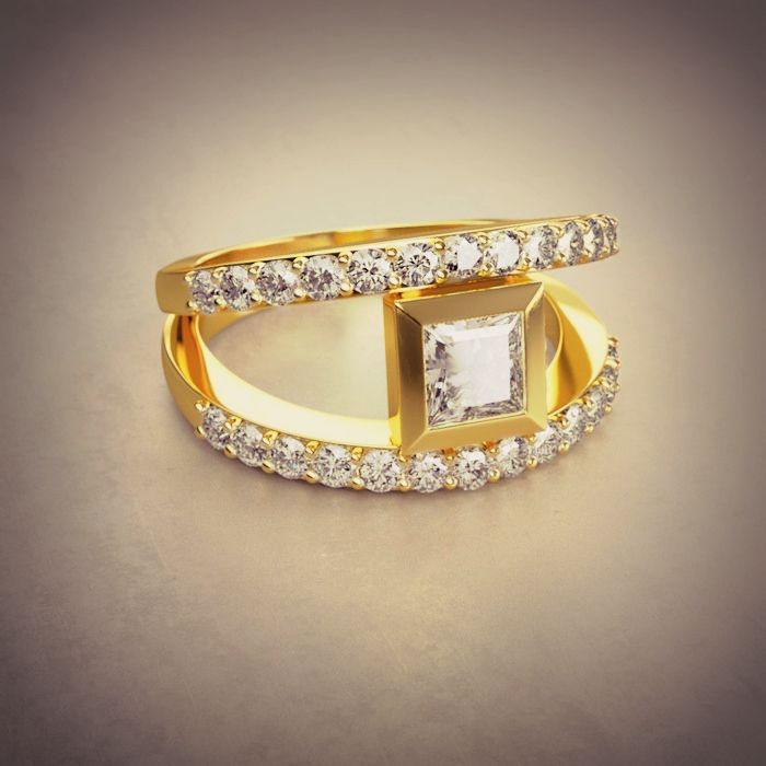 Fairy Tales Wedding Ring Sets: 25 Best Yellow Gold Love Images On Pinterest