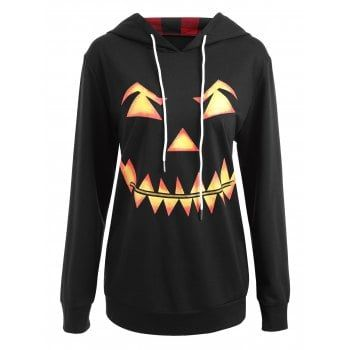 SHARE & Get it FREE | Plus Size Halloween Pumpkin Face Funny SweatshirtFor Fashion Lovers only:80,000+ Items·FREE SHIPPING Join Dresslily: Get YOUR $50 NOW!