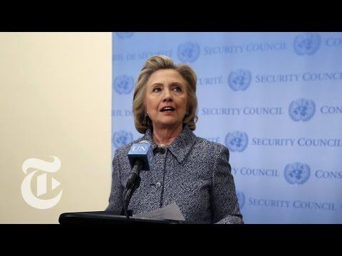Hillary Clinton Answers Questions on Email Controversy [FULL]   The New York Times - YouTube