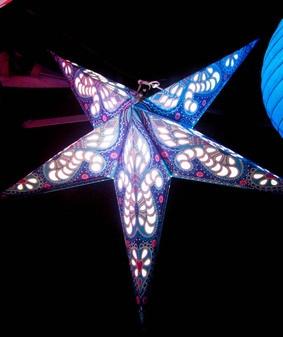 Star lanterns from www.moonlightandwhimsy.com.au: Twinkletwinkle