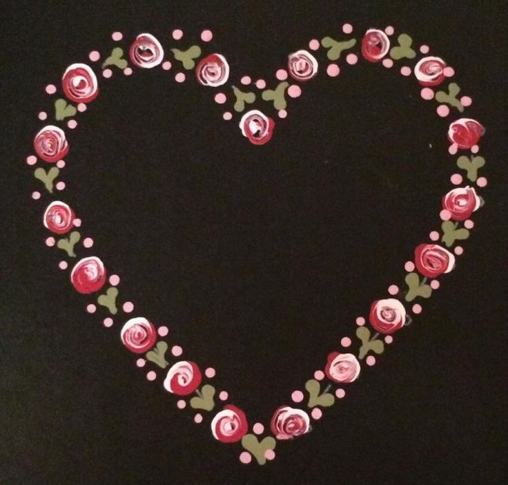 Karen was understandably proud with her first dot rose heart she created using our Series 1 Starter kit. Available from www.folkit.co
