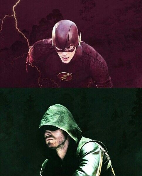 Oh my goodness...because what I really need in life are TWO superhero shows to geek out over.  If Flash is as oddly fascinating as Arrow I'm in trouble.