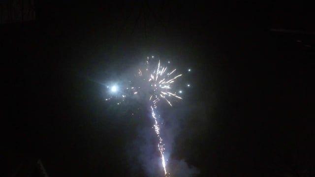Ein sehr schönes Feuerwerk aufgenommen mit meiner GoPro Hero4 Black.