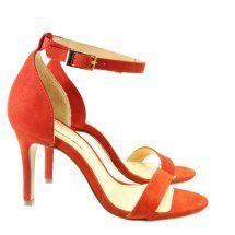 Sandália Vermelha Carmin 6484  CAPODARTE