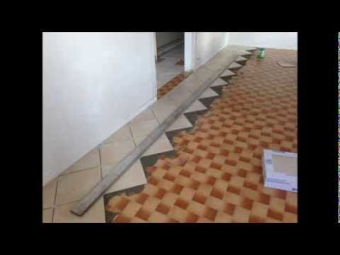 1000 ideas about comment poser du carrelage on pinterest for Pose de carrelage exterieur sur chape beton