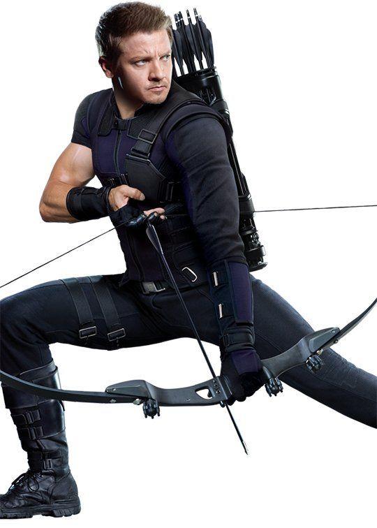 New Hawkeye costume, 2016