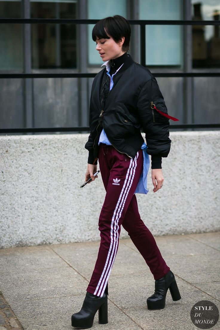 Julia Hobbs Adidas Balenciaga by STYLEDUMONDE Street Style Fashion Photography