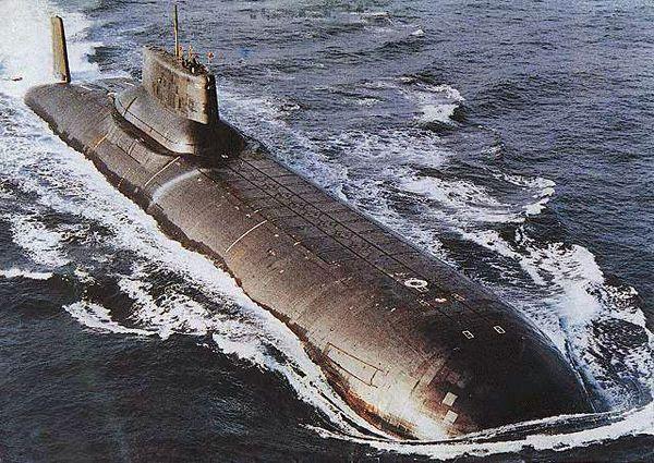 Soviet Navy Typhoon-class ballistic missile nuclear submarine