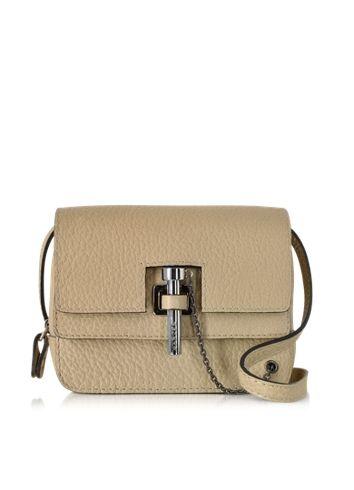 Carven+Malher+Grained+Leather+Mini+Crossbody+Bag